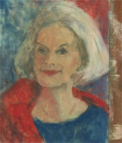 Barbara Doyle (b.1917) - Contemporary Oil, Elegant Lady