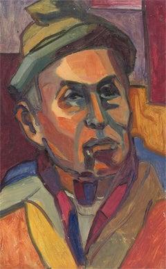 Barbara Doyle (b.1917) - Contemporary Oil, Fauvist Male