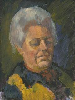 Barbara Doyle (b.1917) - Contemporary Oil, Female Portrait Study
