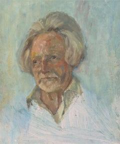 Barbara Doyle (b.1917) - Contemporary Oil, Male Head Study