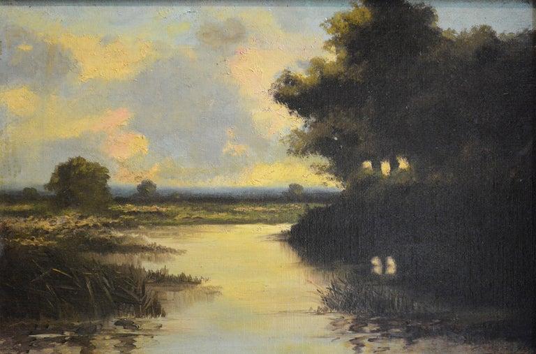 Unknown Landscape Painting - Barbizon Scene