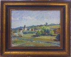 Barbizon School Landscape, Près de Bec de Mortagne.