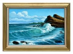 Barrel Wave - Carmel Pacific Ocean Seascape