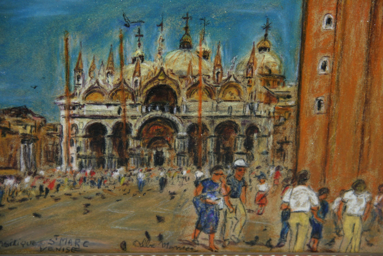 Basilica St Mark Venice Landscape