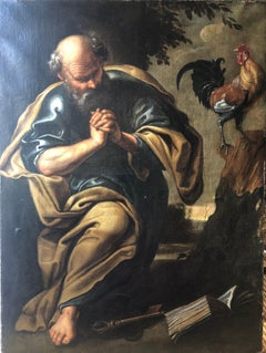 Beautiful Early 17th Century Painting of St Peter