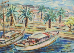 'Boats on the French Riviera' by Harit Noël