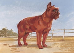 Brussels Griffon Painting