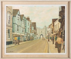 C. Ward - Signed & Framed Mid 20th Century Oil, Westgate, Canterbury