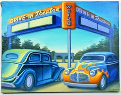California Drive In City scape Landscape