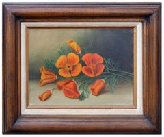 California Poppies - Botanical Still Life
