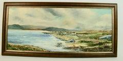 California  Seaside Village Painting