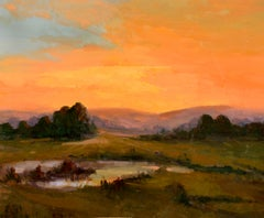 California Sunset Landscape