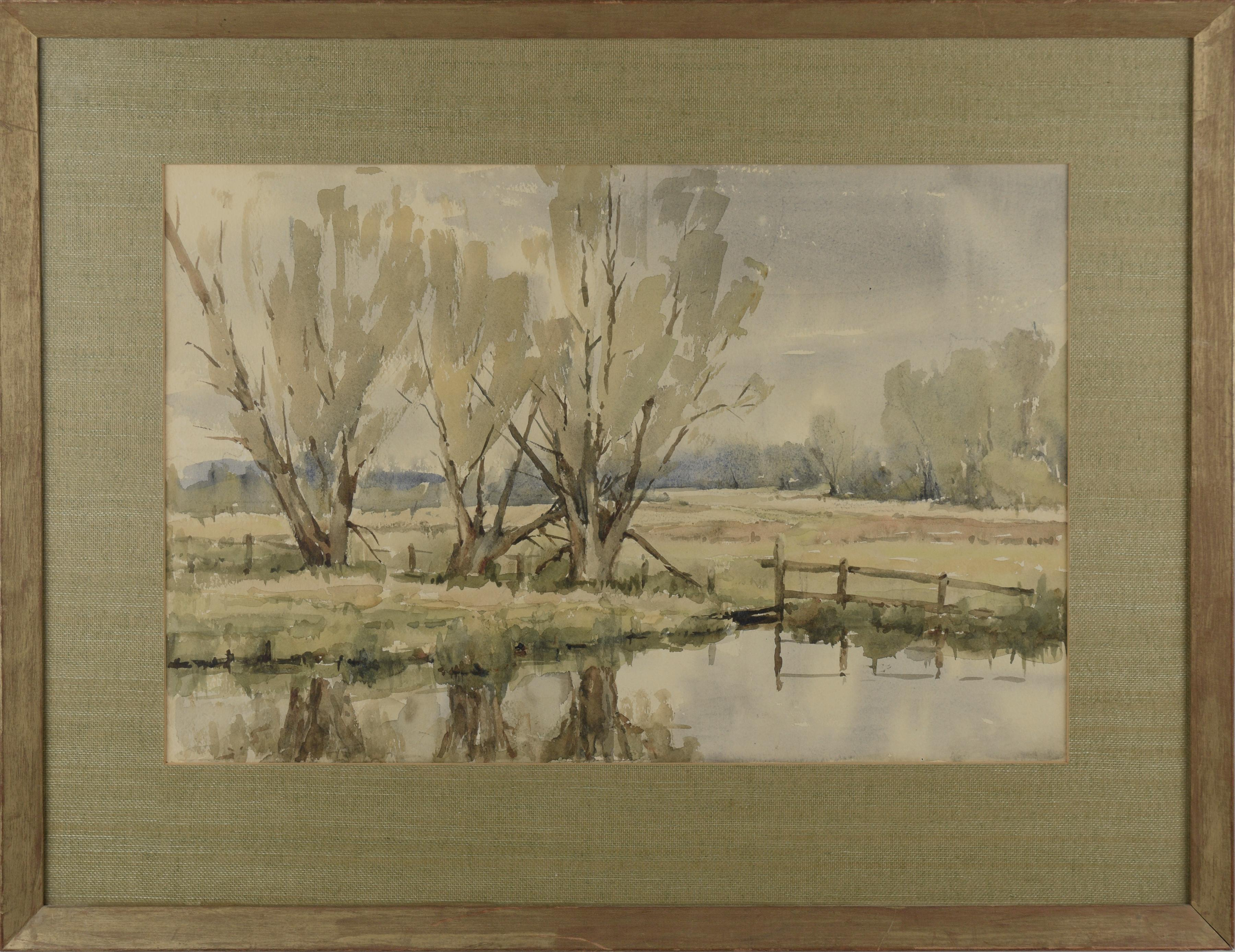 California Wetland Ponds Landscapes (Two Sided)