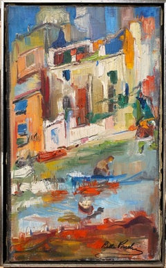 Cityscape with Boats