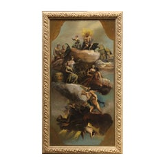 Classical Naturalistic Style Italian Allegory Study