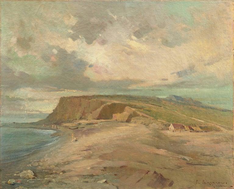 Unknown Landscape Painting - Coastal Landscape