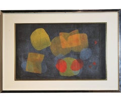 Collin - Geometric Abstract Primary Secondary Compostition