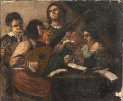Concerto - Oil on Canvas by Early 20th Century Master