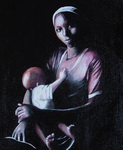 Contemporary Oil - Motherhood