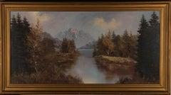 Contemporary Oil - Mountain Lake