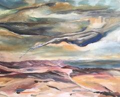 Dark Skies, Stylised Impressionist Oil Painting