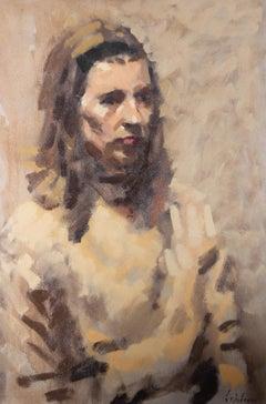 David Wilson (1919-2013) - 1966 Oil, Study Of Mary Cheal