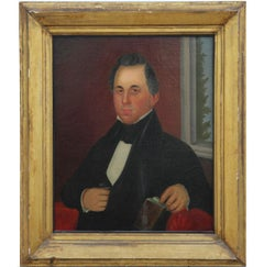 Early 19th Century American Portrait of a Man