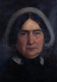 Early 19th Century Oil - The Matriarch