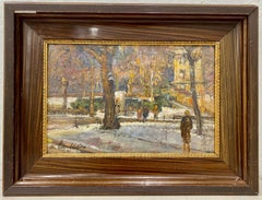 Early 20th Century Impressionist Oil Painting C.1920
