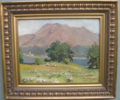 Early 20th Century Lakeland Landscape Impressionist oil on canvas
