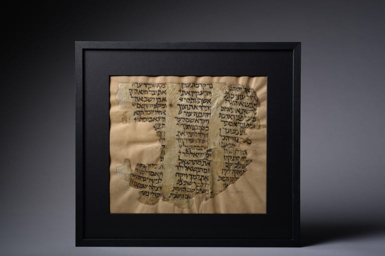 Unknown Abstract Painting - Early Bible Manuscript from the Cairo Genizah