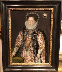 Elizabethan Lady Marriage Portrait