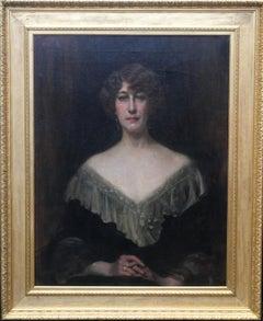 Emily Gertrude Lilias Muirhead - British Edwardian art oil painting portrait