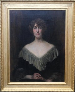 Emily Gertrude Lilias Muirhead - British Edwardian art oil painting portrait
