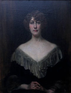 Emily Gertrude Lilias Muirhead - British Edwardian art portrait oil painting