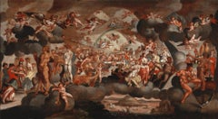 Feast Of The Gods At The Marriage Of Love And Psyche - Antwerp School