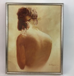 Female Nude Figurative Painting