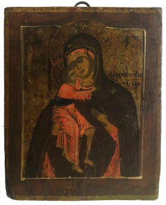 Feodorovskaya Icon of the Mother of God Circa 1800
