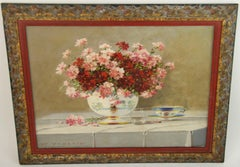Floral Table Setting Still Life
