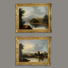 Follower of Alexander Nasmyth (1758-1840) A Pair of 19th Century Highland Landsc