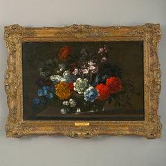 Follower of Jean-Baptiste Monnoyer – Still Life Oil on Canvas