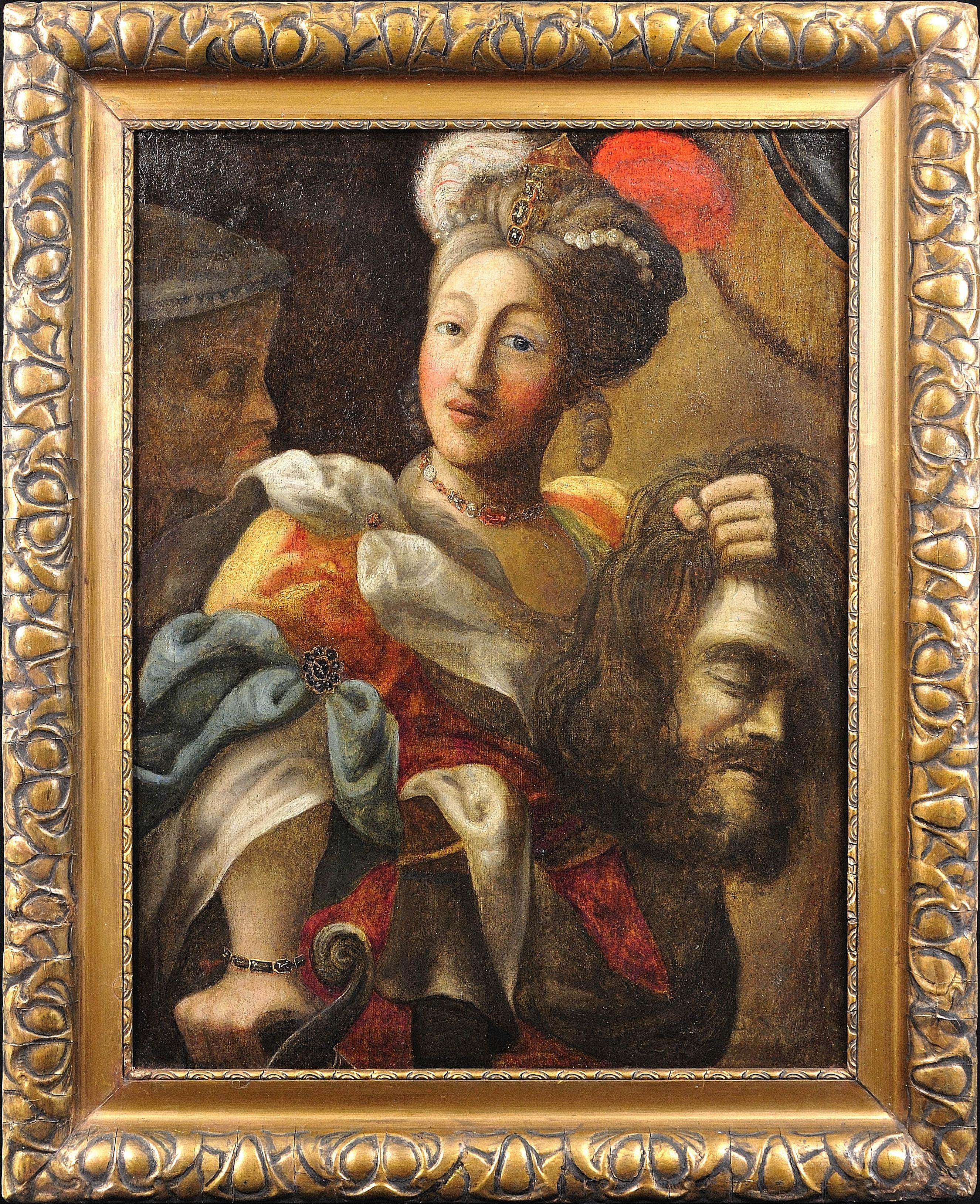 Follower of Rubens. Judith and the Head of Holofernes. Bible. Highly Decorative.