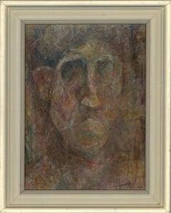 Framed 20th Century Oil - Head Study