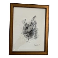 Framed Charcoals by S Wheeler