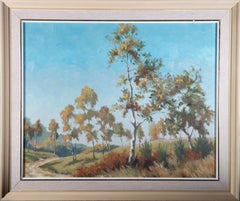 Framed Mid 20th Century Oil - Copse Wood