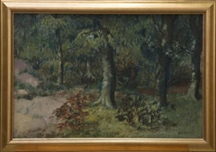 Framed Mid 20th Century Oil - The Forest