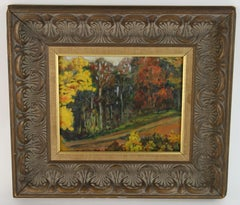 New England Country Side Passage Landscape