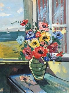 'French Riviera Window', French School
