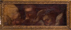 French School, 17th / 18th Century oil painting of Seraphim, a fragment