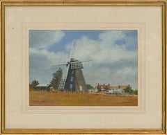 G. Fowler - Signed & Framed Mid 20th Century Oil, Lacey Green